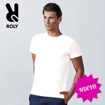 6b68a6667df6d Camiseta blanca UNISEX Dogo Premium de Roly impresión 1 color